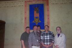 L to R, Bob Pugsley,  Bruce Glaser, Peter Braell,  Todd Shillington, Michael Bonafede